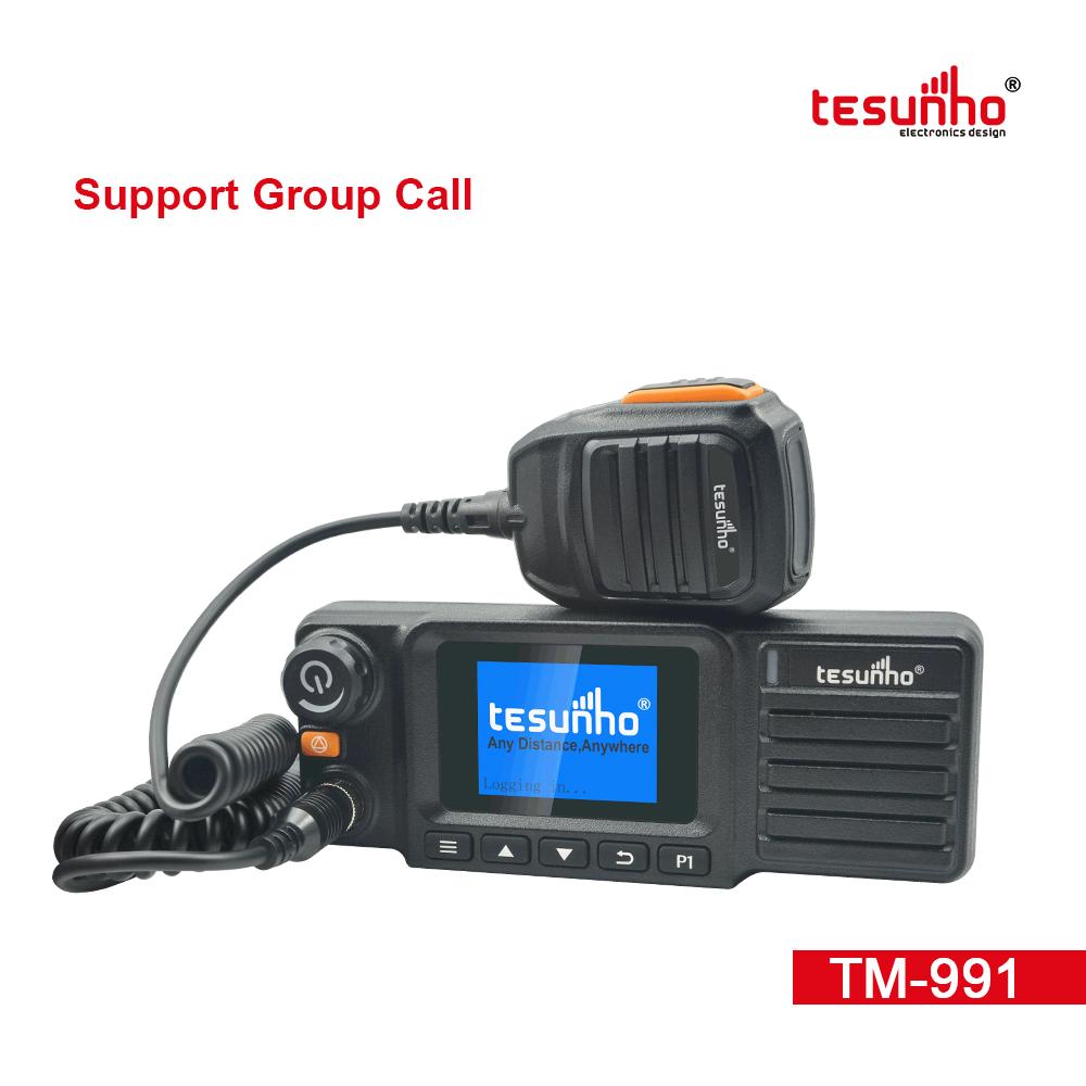 Lightweight 4G Vehicle Radio With Sim Card TM-991