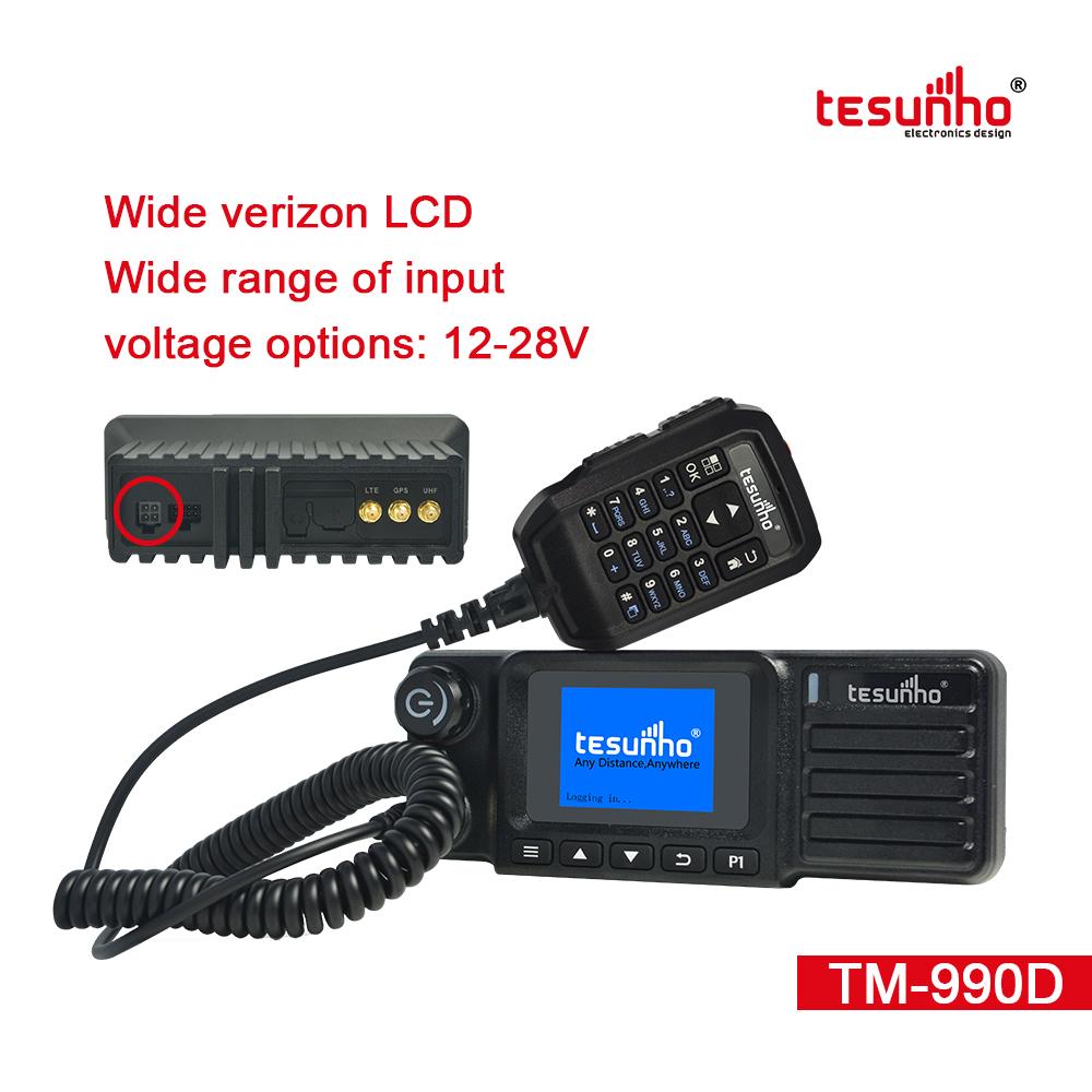 Dual Modes Gateway Vehicle Walkie Talkie TM-990D