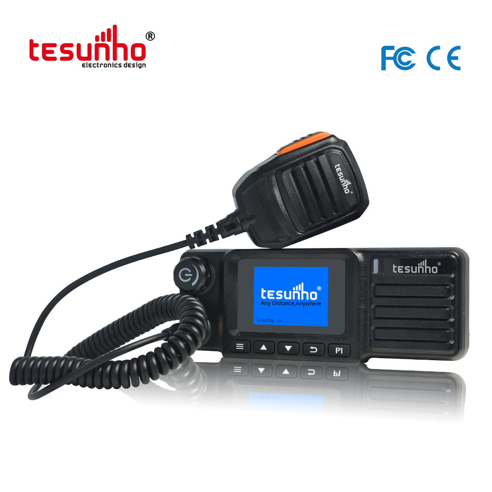 OEM LTE Mobile Radio With Tracking System TM-991