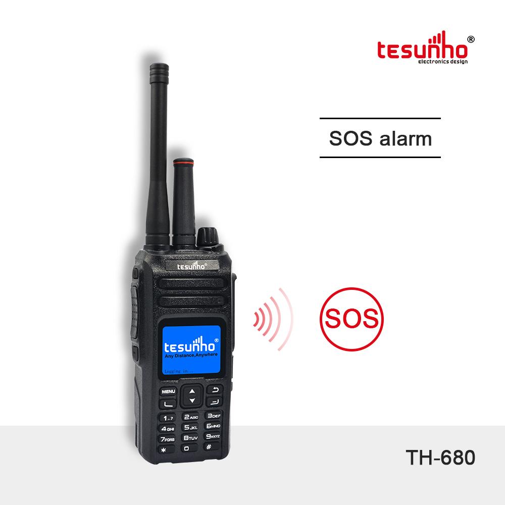 POC 4G Analog Radio 100km Range Tesunho TH-680