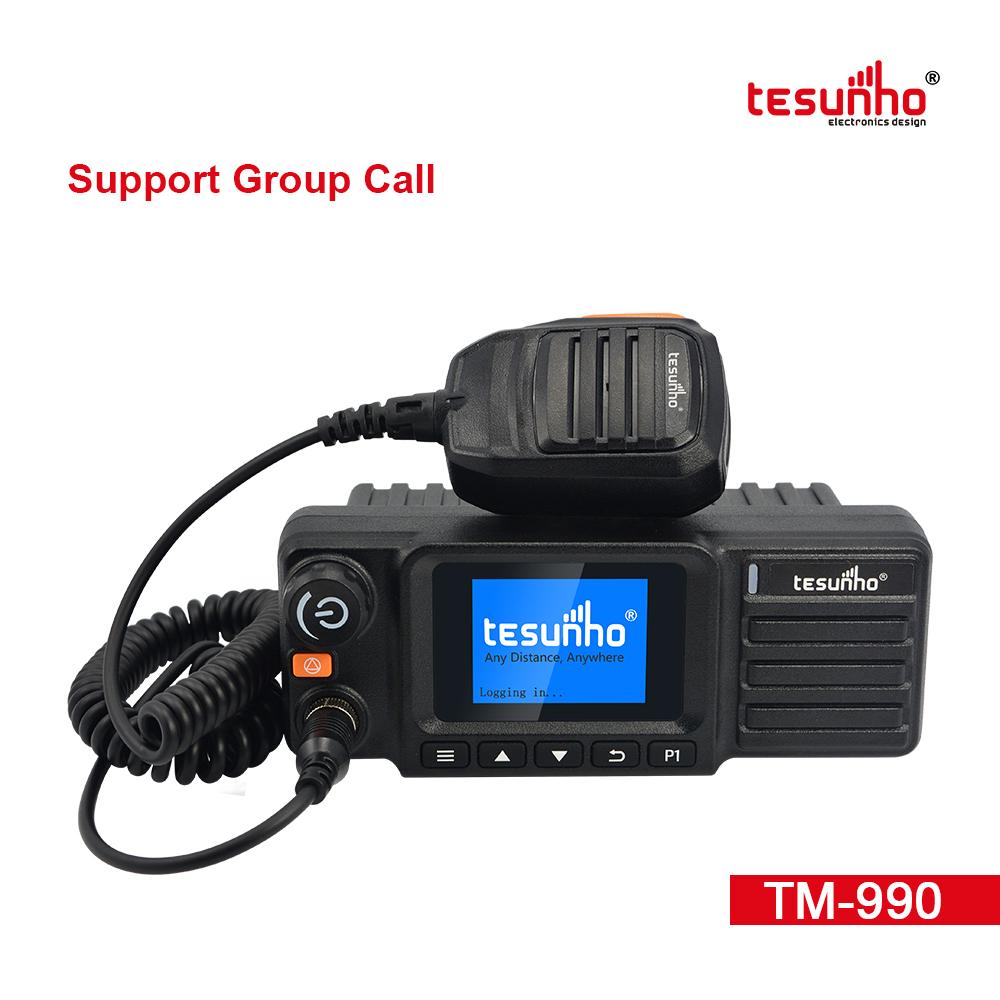 Mobile Radio Bluetooth Realptt Platform TM-990