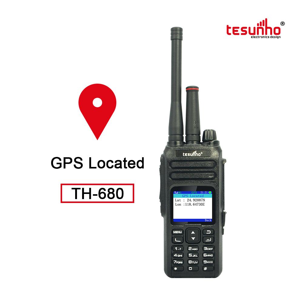 TH-680 3G WCDMA Long Range GPS Walkie Talkie