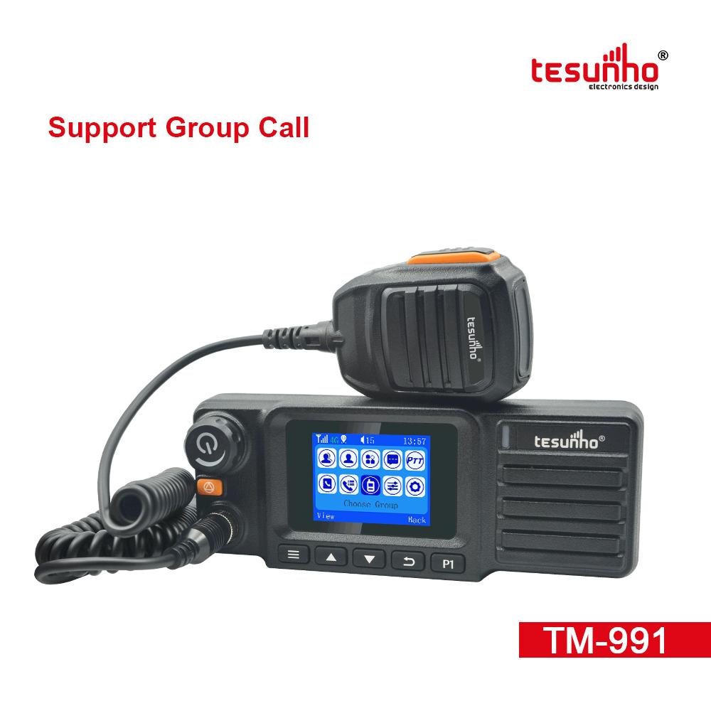 FCC 4G Cruise Ship Mobile Radios TM-991