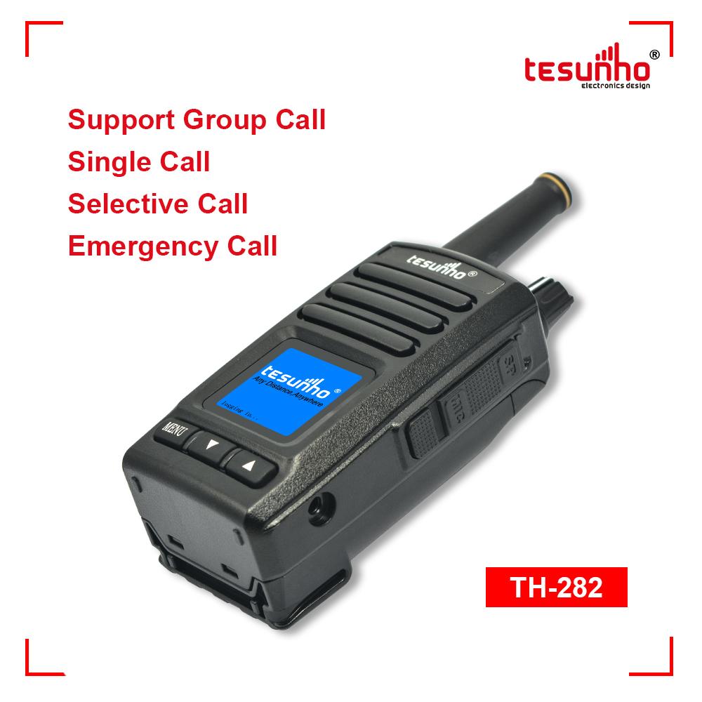 China GPS LTE Portable RadioPocket Size TH-282