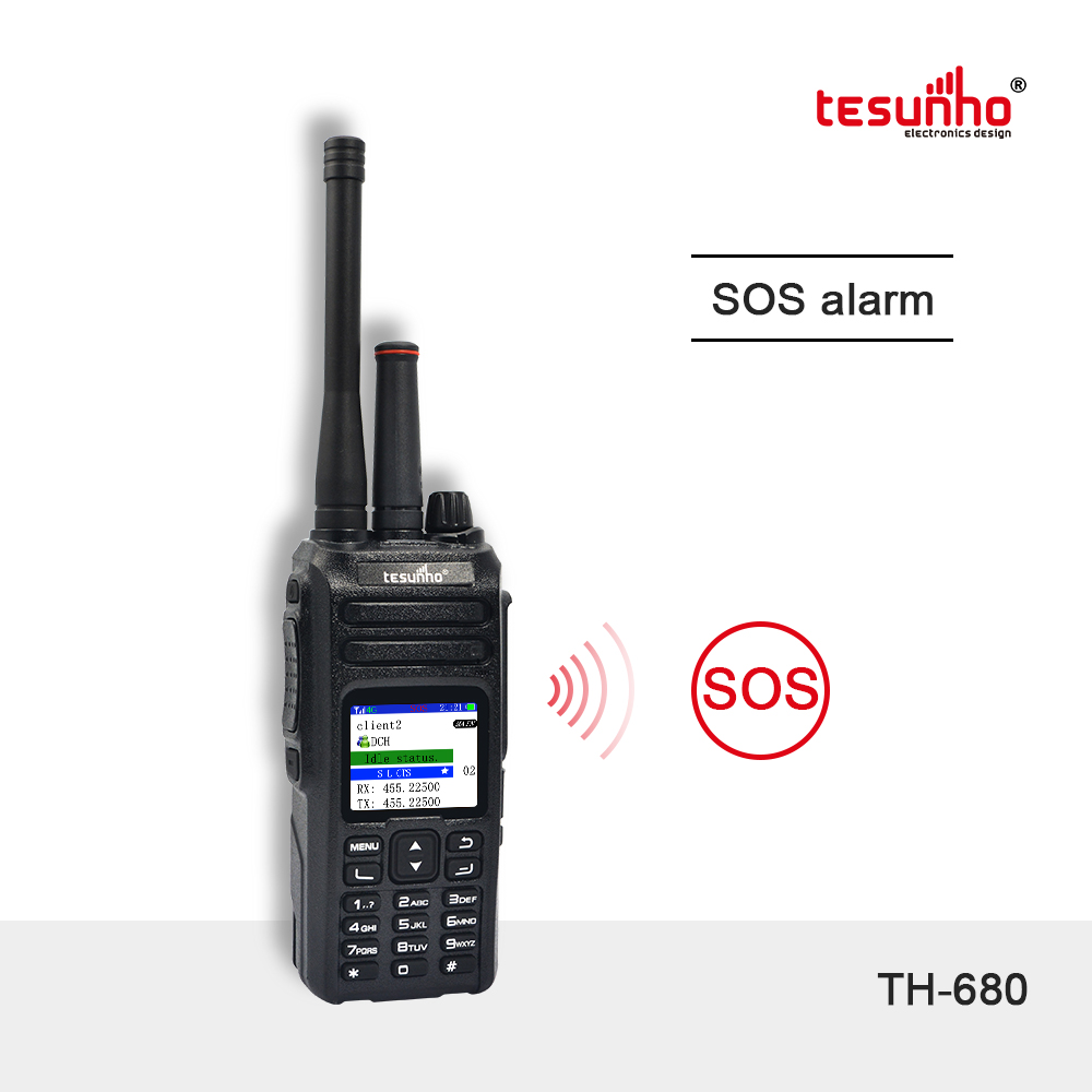 Long Range 500 Mile Walkie Talkie For Security TH-680