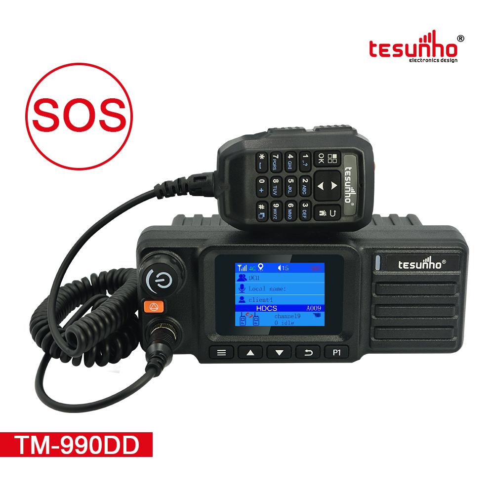 LTE UHF 199 Channels Digital Mobile Radio TM-990DD