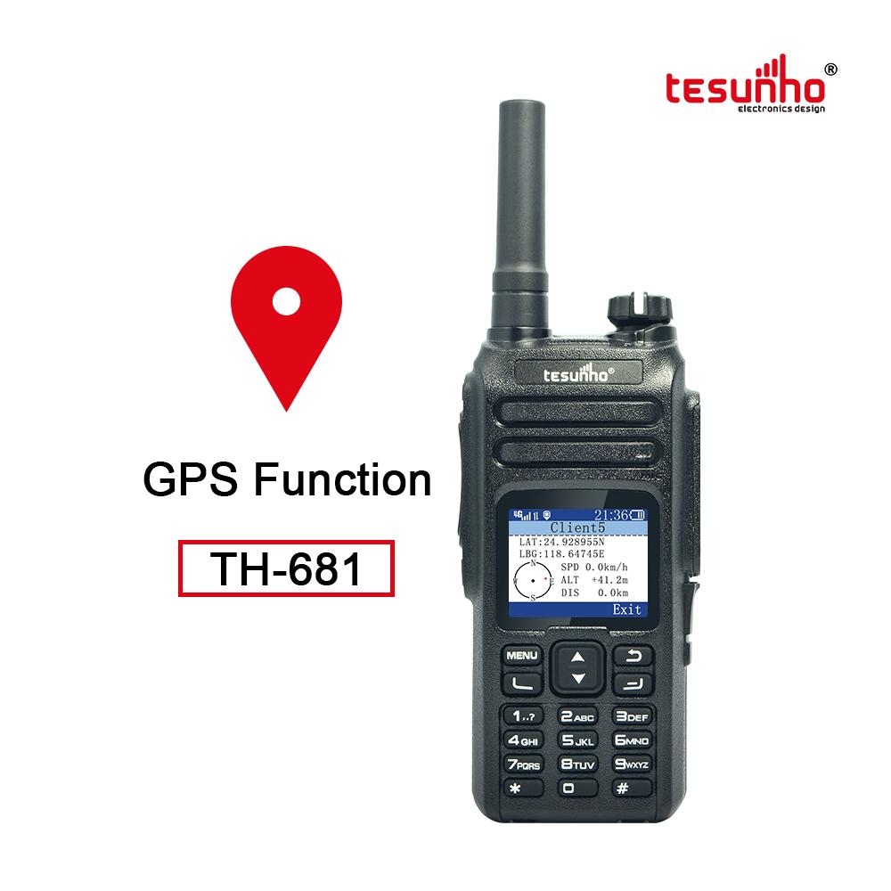 Network Global Range Radio Over IP PTT Phone TH-681