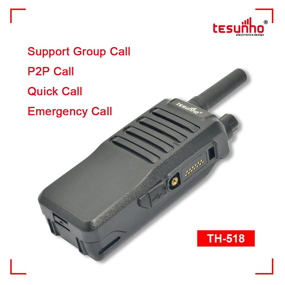 Security Guard Equipment Walkie-talkie POC TH-518L