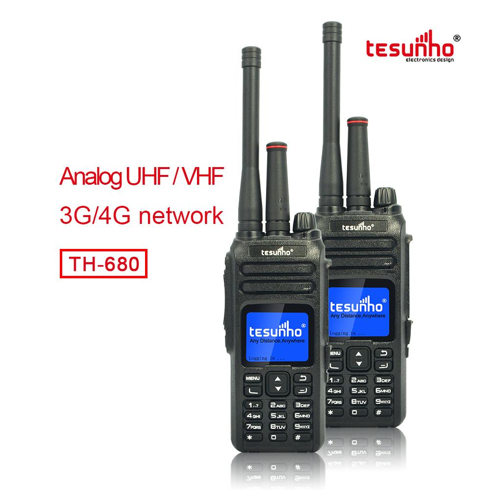 Full Keypad Multi Network Transceiver TH-680