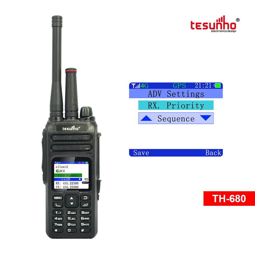 TH-680 Analog POC 4G Radio With Sim Card