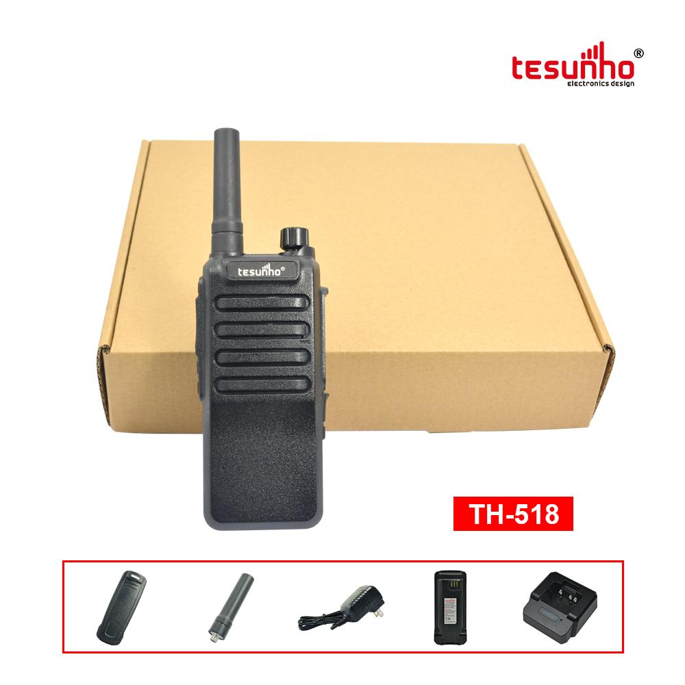 3G Handheld PoC Two Way Radio 100KM RangeTH-518