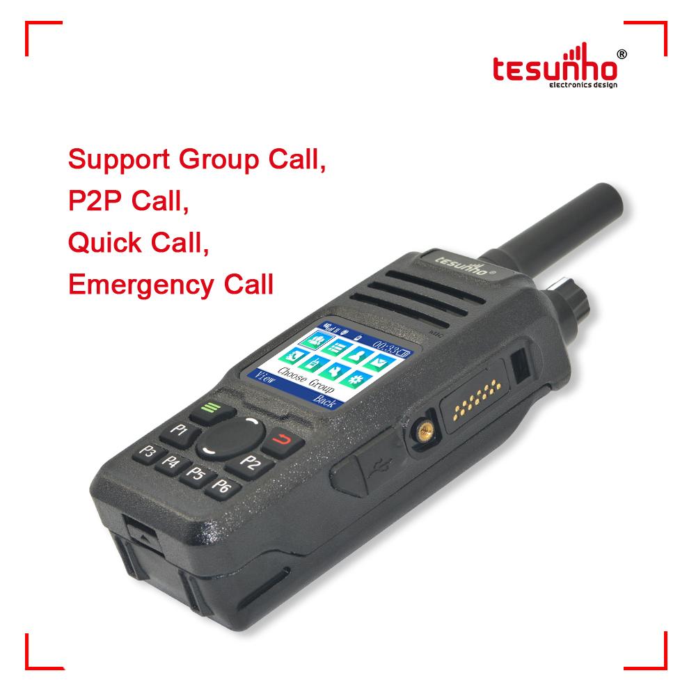 Network Portable Two Way Radio NFC Patrol TH-682