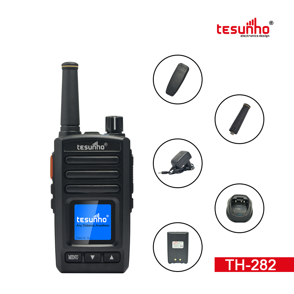 IP 4G Portable Two Way Radio With GPS TH-282