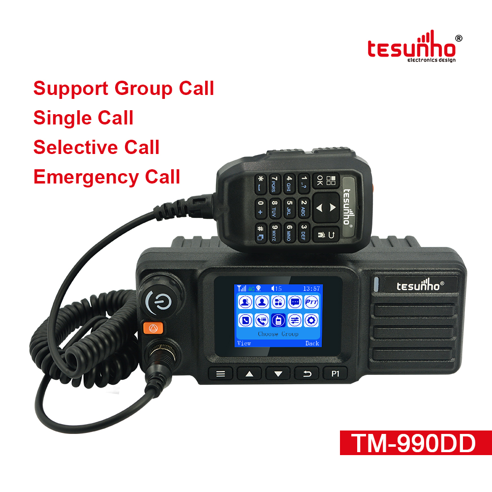 4G UHF Vehicle Mounted DMR Radio Repeater TM-990DD