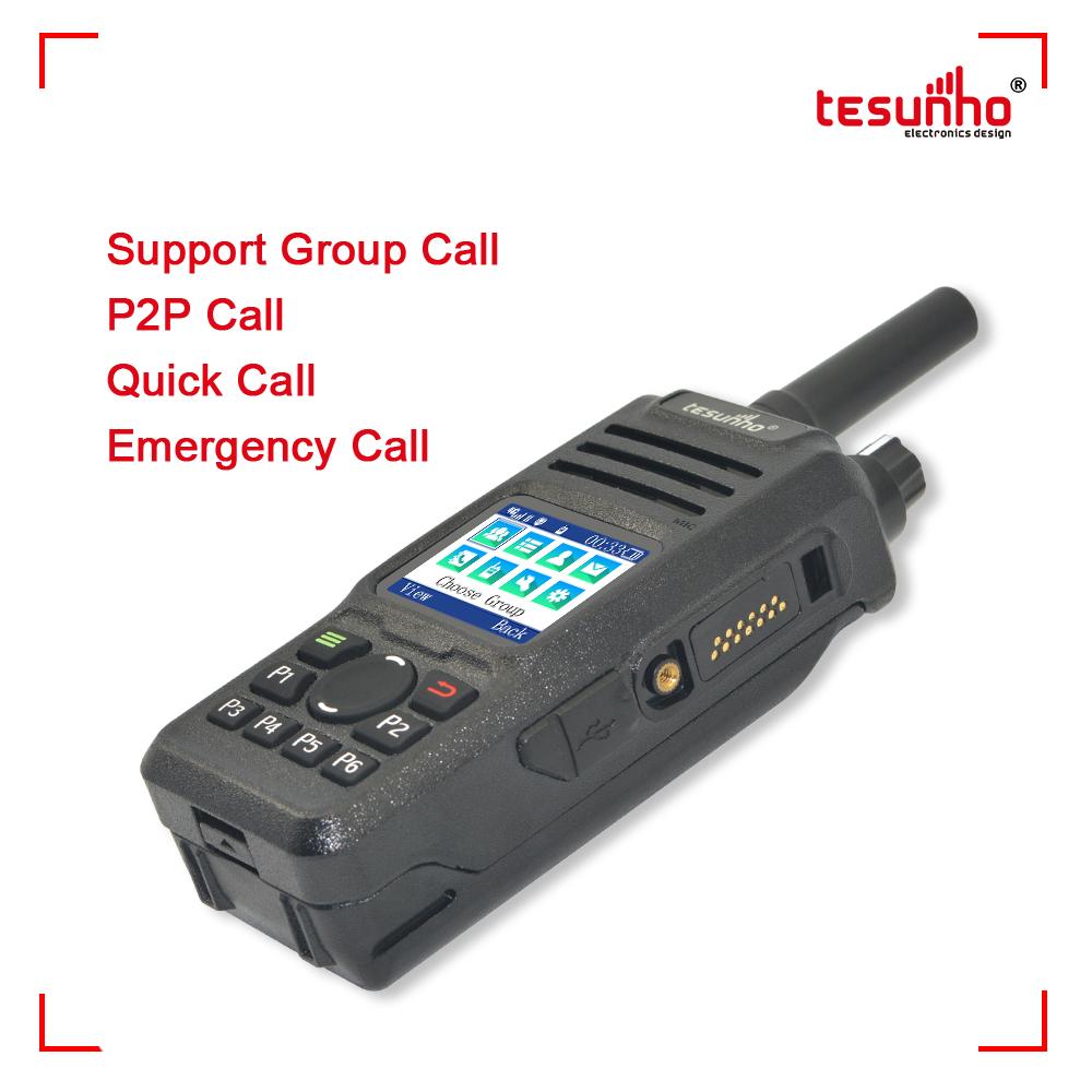 4G Network Realptt Radio Tesunho TH-682