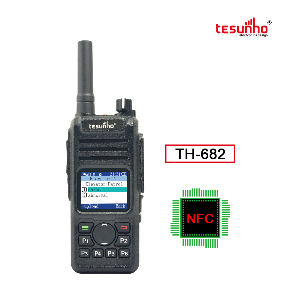 Tesunho TH-682 GPS Security NFC PoC Walkie Talkie