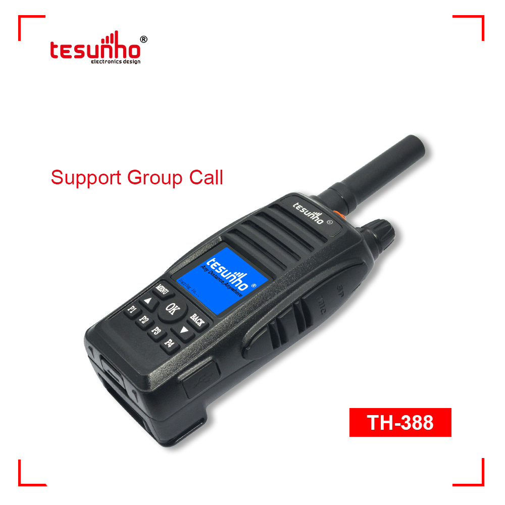 4G SOS Two Way Radio Support Group Call TH-388