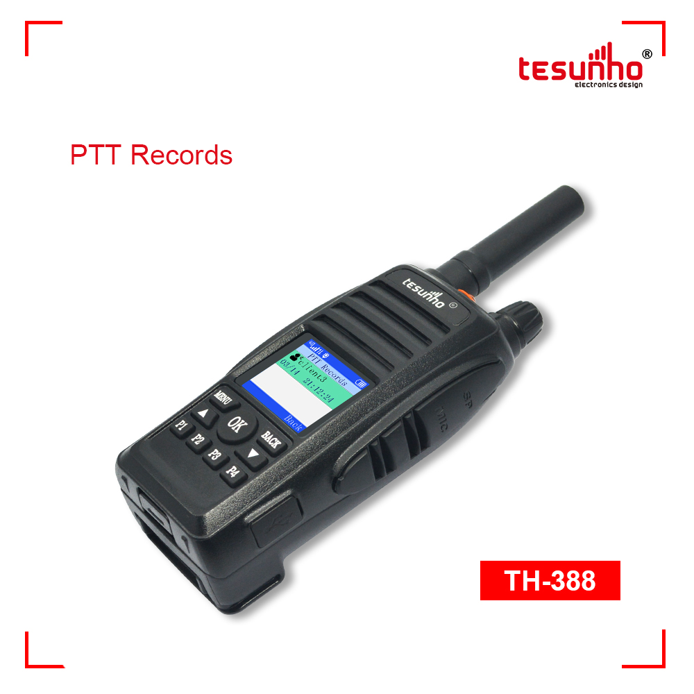 Factory Customized GPS Function IP Two Way Radio TH-388
