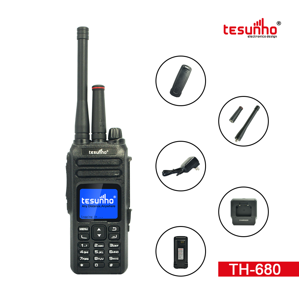VHF Handheld Internet Two-way Radio IP TH-680