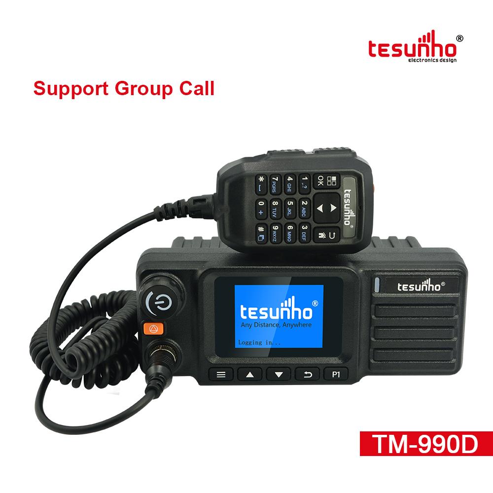 TM-990D Keypad Handmic Vehicle Two Way Radio
