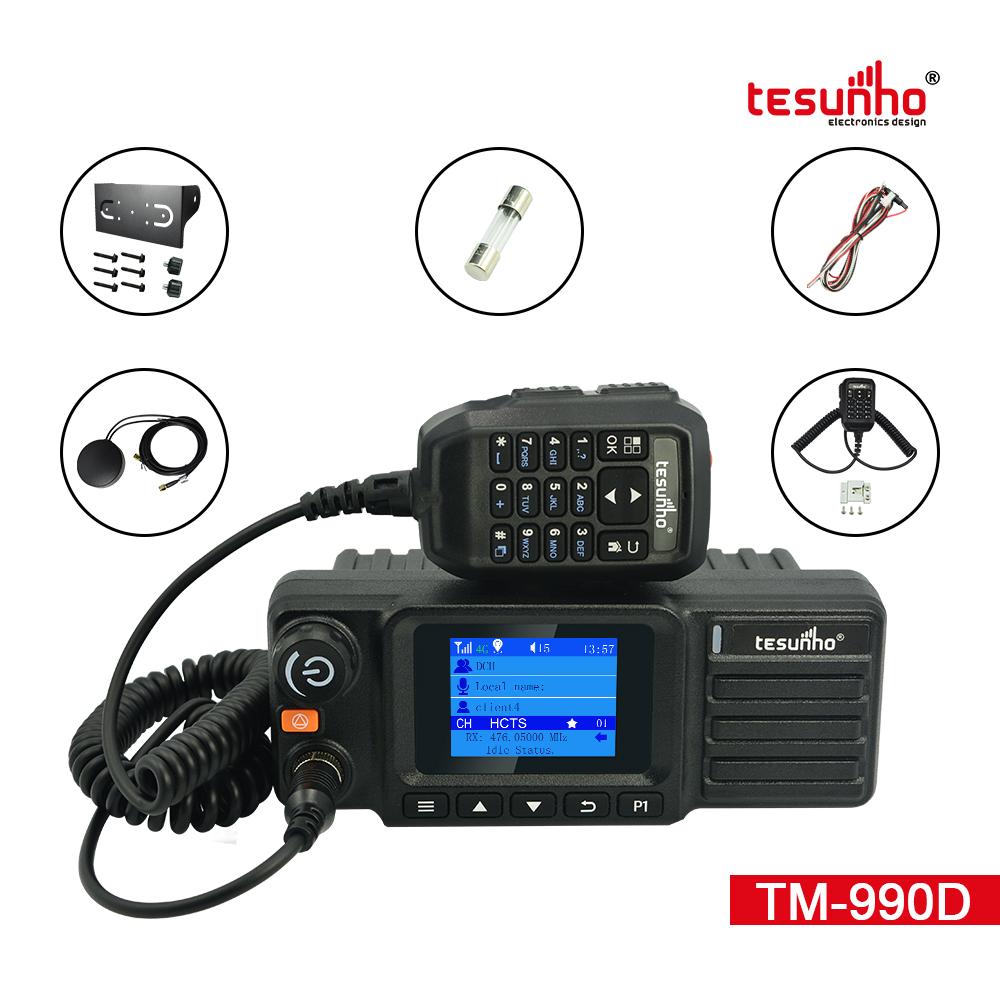 4G UHF Vehicle Mounted Radio Unlimited Range TM-990D