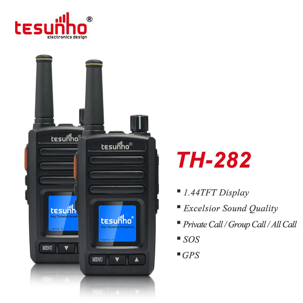 Mini Lightweight Black Radio Over IP TH-282