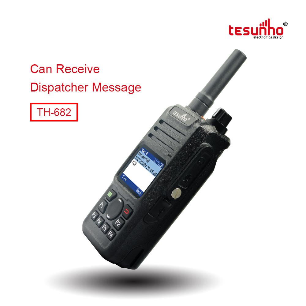 TH-682 Intercom POC PTT Handy Talkie 100km Range