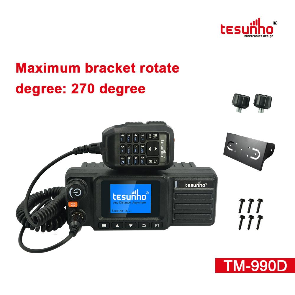 Analog POC Mobile Radios Real Ptt TM-990D