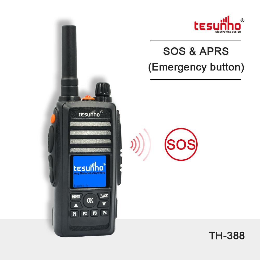 PoC 500 KM Walkie Talkie With SIM Card TH-388