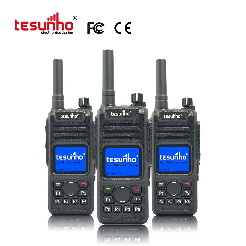 TH-682 Patrol Radio LTE Walkie Talkie With GPS