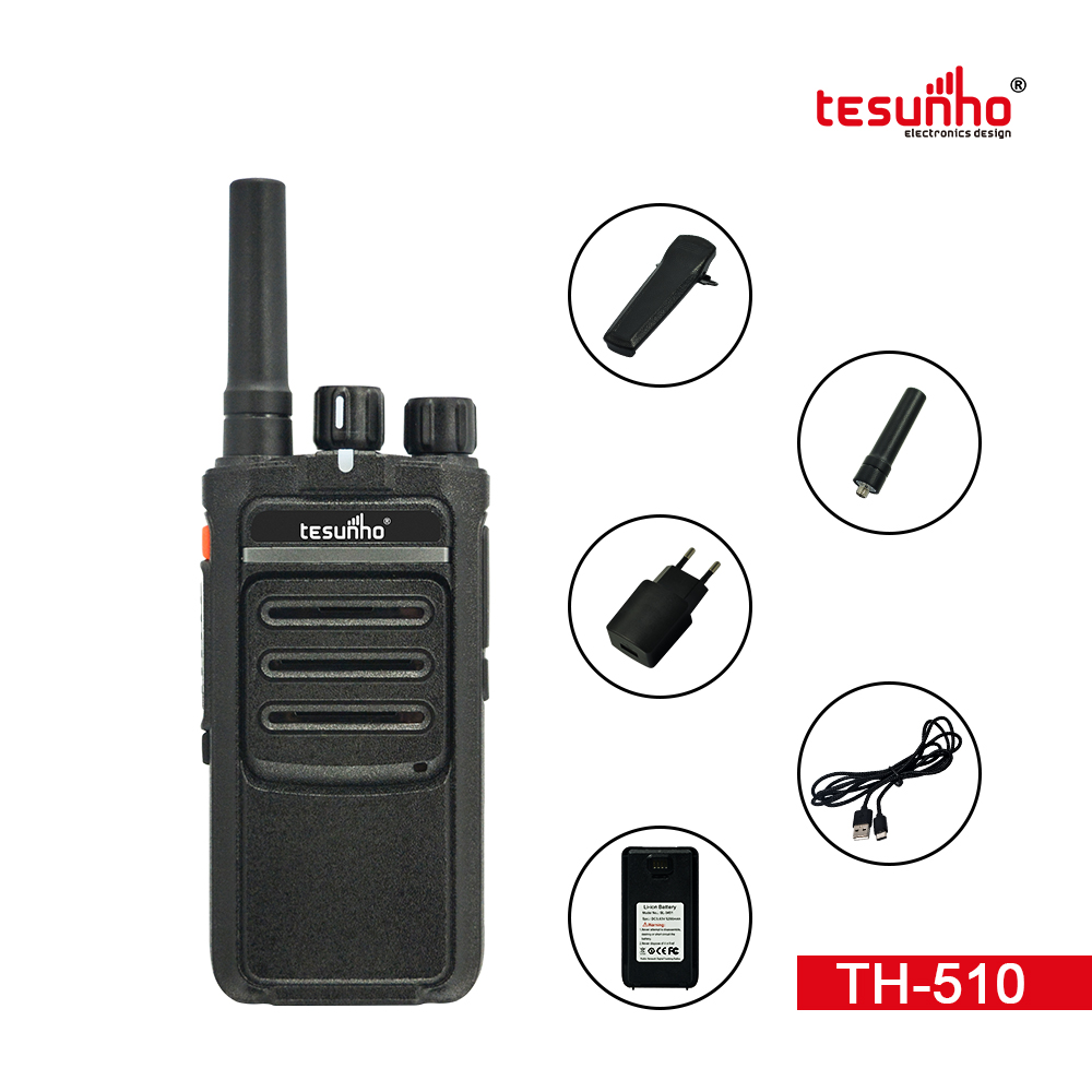TH-510 LTE Walkie Talkie With Noise Suppression