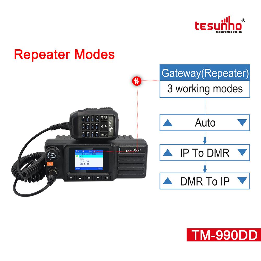 Tesunho TM-990DD 4G POC DMR Car Radio