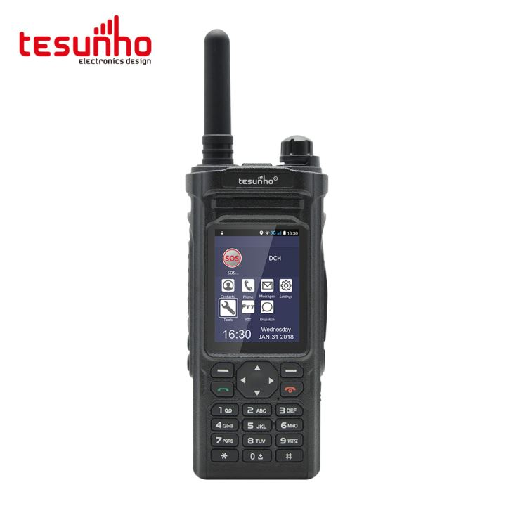 Tesunho TH-588 Android and WIFI PTT Two Way Radio for Seniors