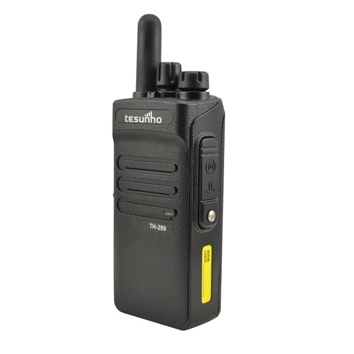 Smart Rugged Dual Band Two-way Radio Transceiver