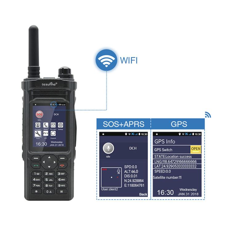 Strong WIFI 500 Mile Walkie Talkie for Hunting