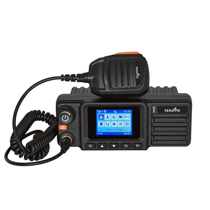 LTE Mobile Radio Walkie Talkie For Taxi