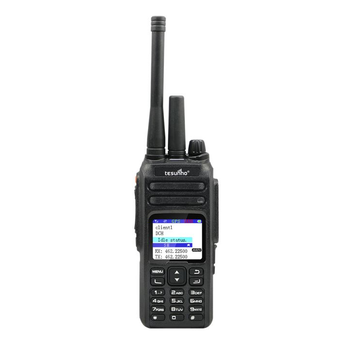 TESUNHO 4g SIM Card Mobile Walkie Talkie 100 Km Range With Panic Button